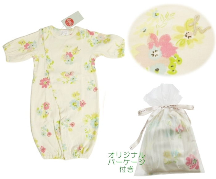 hakka baby「インクフラワー2WAYドレス」(FREE)